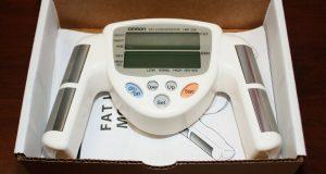 Omron HBF-306C Fat Loss BMI Monitor Tracker  White