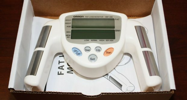 Omron HBF-306C Fat Loss BMI Monitor Tracker  White