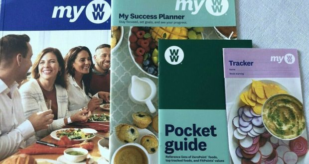 Weight Watchers 2020 MY WW – Welcome Kit – Program Guide, Success Planner, Track