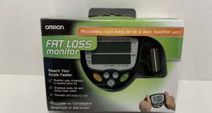 Omron Fat Loss Monitor HBF-306C, Handheld Battery-Powered- Fat – BMI