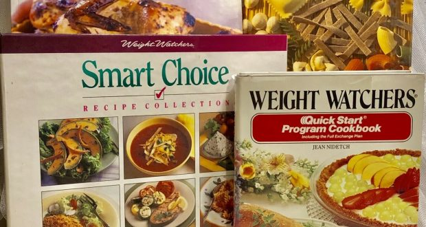 LOT OF 4 WEIGHT WATCHERS Cookbook Recipes Pasta Smart Choice Program 1st Ed VTG