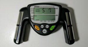 OMRON Fat Loss Monitor HBF-306CN (HBF-306-Z5) Track Body Fat & BMI – Working