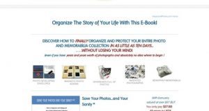 How to organize photos and memorabilia – Organized Photos