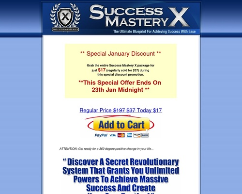 Success Mastery X Bestselling System
