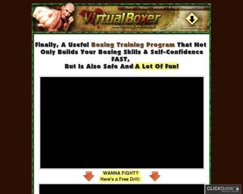 Virtual Boxer – Boxing Training Program – Boxing Game – Try For Free!