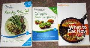 Weight Watchers Complete Food Companion 2012 Points Plus & 2 Recipe Books