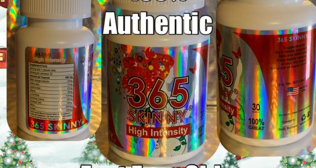 365 Skinny High Intensity Weight Loss Pills