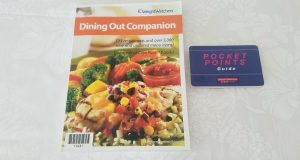 Weight Watchers Dining Out Companion and Pocket Points Guide