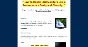 LCD Monitor Repair Made Easy – How To Repair LCD MOnitors