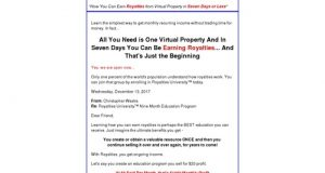 Royalties University – How to Earn Royalties from Intellectual Property
