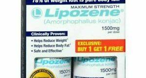 Lipozene Maximum-Strength Weight Loss Capsules 30count X2=60capsules