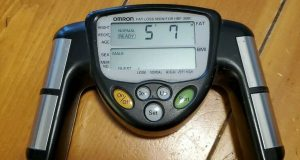 Omron HBF-306C Fat Loss Monitoring Monitor Fat Tracker BMI Body Tested