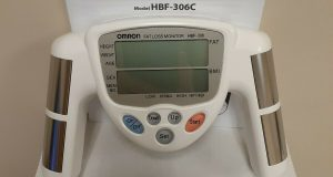 Omron HBF-306 / 306C Fat Loss BMI Monitor Tracker  White