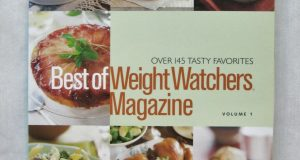 BEST OF WEIGHT WATCHERS MAGAZINE COOKBOOK VOLUME 1 * SOFT COVER * LIKE NEW!