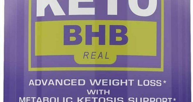KETO BHB REAL ADVANCED WEIGHT LOSS 1 MONTH 60 CAPSULES **FAST SHIPPING**