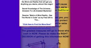 Mind Reality – Secrets Of The Universe
