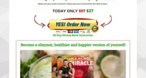 MiracleMix Remedy   How I Naturally Lost 37 Lbs In 40 Days
