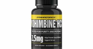 PrimaForce Yohimbine HCl, 2.5mg Capsules – Weight Fat Loss Supplement – 90 Count