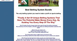 Best betting system bundle – Make money on the betting exchanges with horses, greyhounds, blackjack and football