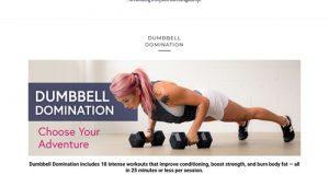 Dumbbell Domination – Jen Comas