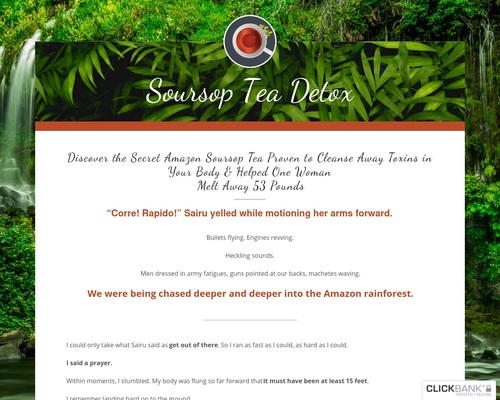 Soursop Tea Detox – Hot New Weight Loss Detox Program