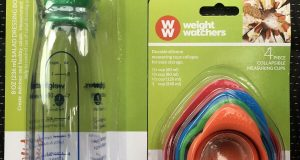 WW Weight Watchers Salad Bottle 4 Piece Measuring Cups