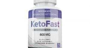 Keto Fast Keto Pills Best Weight Loss Diet Pills Ketogenic Supplement BHB 60