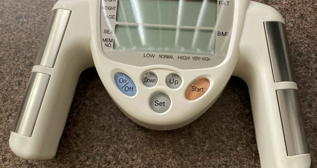 Omron HBF-306 Fat Loss Monitor Body Fat Analyzer – Used