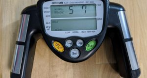 OMRON HBF-306C FAT LOSS MONITOR FREE SHIPPING