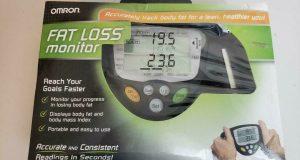 Omron HBF-306C Body Fat Loss Monitor Analyzer Black (HBF-306-Z5 HBF-306C) NEW*B3