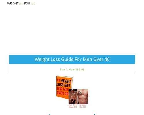 Weight Loss Guide For Men Over 40 | Staying Healthy After 40 eBook