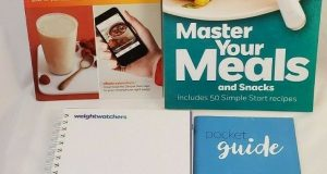 WEIGHT WATCHERS Master Your Meals Recipe Book 12 Wk Planner Tracker Pocket Guide
