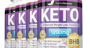 Keto BHB Pure Ketogenic Ultra Fast Weight Loss Fat Burner Diet Pills 60 Capsule