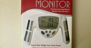 Omron Hand Held Fat Loss Monitor   HBF-306C