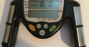 Omron Fat Loss Monitor HBF-306C, Handheld Battery Powered, BMI | FREE SHIPPING!