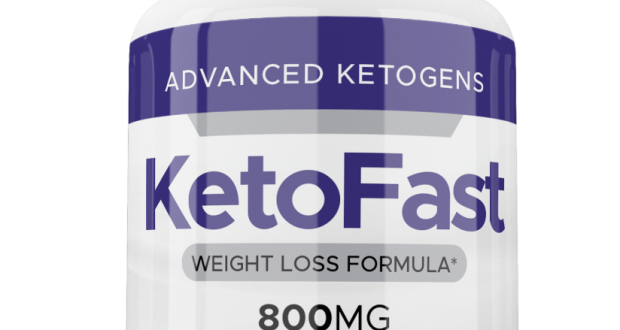 KETOFAST WEIGHT LOSS FORMULA 60 CAPS KETO PILLS FAST BHB MEN/WOMEN FAT BURNER