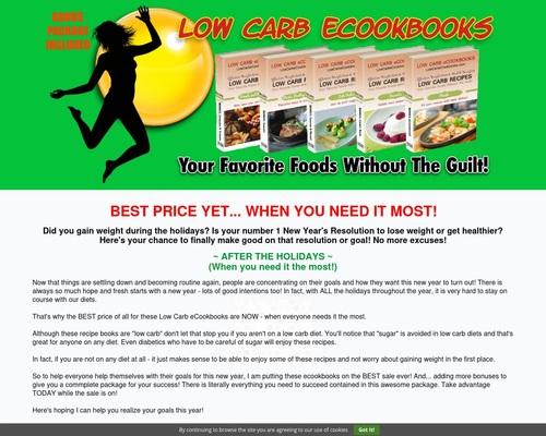 Low Carb eCookbooks Home – Low Carb eCookbooks