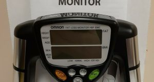 Omron HBF-306C Fat Loss BMI Monitor Tracker – Black