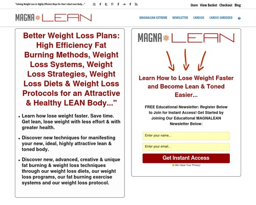 MAGNA Lean | Fat Loss Weight Loss Systems