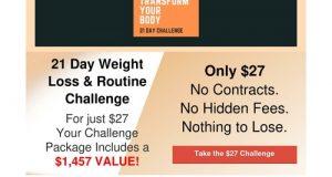 21 Day Transform You Body Challenge