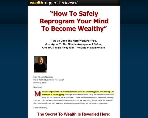 Wealth Trigger 2.0: Reloaded – Joe Vitale and Steve G. Jones
