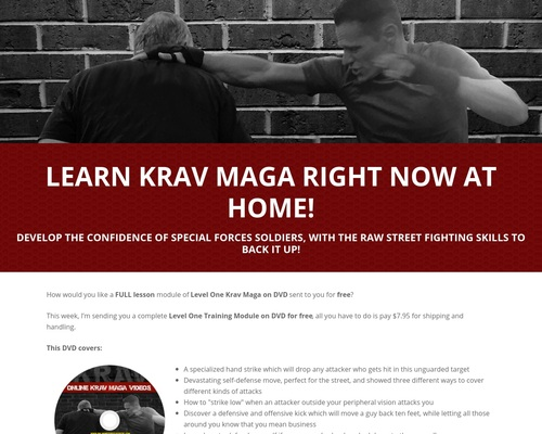 Online Krav Maga Dvd