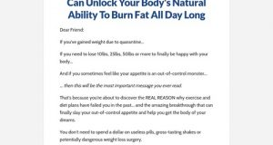The Underground Fat Burner Supplement